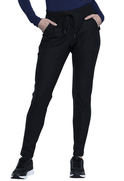 Picture of CK090 - Mid-Rise Tapered Leg Drawstring Pant