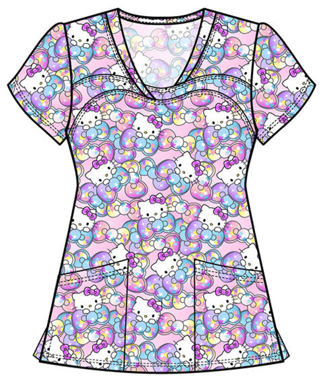 Picture of TF641 - V-Neck Top