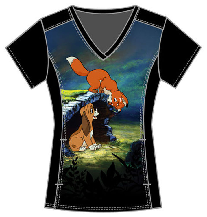 Picture of TF637 - V-Neck Top